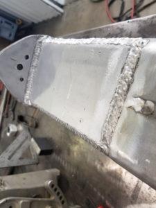 Cutom Machined & TIG Welded Boat Engine Lower Unit